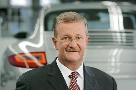 Wendeln Wiedeking, CEO Porsche AG