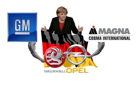 Angela Merkl quer a Opel nas mãos da Magan, mas a GM agora nao está com vontade de vender... Braço de ferro para os próximos tempos!